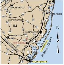 Timberline Lake Camping Resort Map
